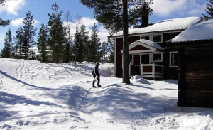 Ein wahrlich winterlicher Ort: Orsa-Grönklitt