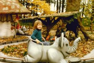 Der Märchenwald des Europaparks früher ...