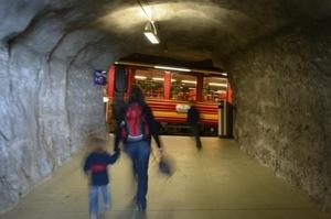 Zwischenstopp auf dem Weg zum Top of Europe: Jungfraubahn