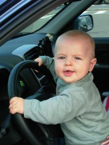 Zumindest als Spielzeug ist unser Auto brauchbar.