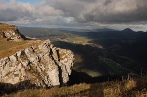 Nicht von allen Seiten spektakulär: der Mont d' Or in der Franche-Comté