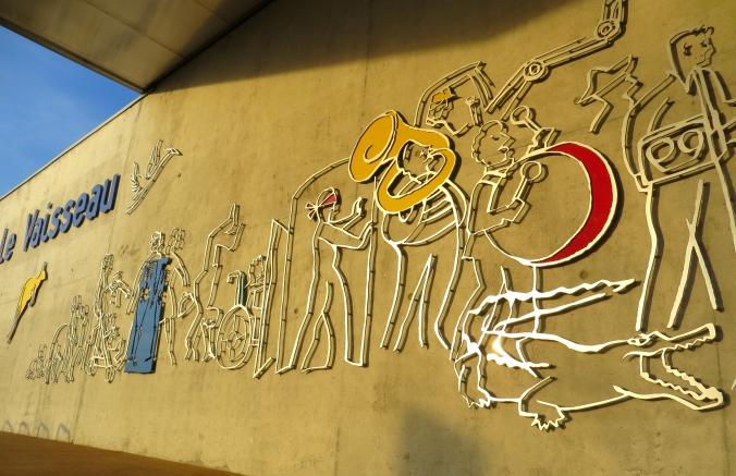 Hier geht's lang: Eingangsbereich des Le Vaisseau in Straßburg.