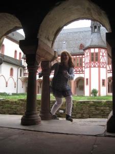 Blick in den Innhof des ehemaligen Zisterzienserklosters Eberbach.