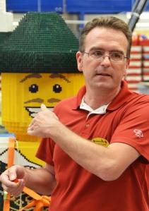 Der Herr der Kreativabteilung: Ilja Schüler und sein Modellbauteam bauen neue und pflegen die alten Modelle im Legoland.