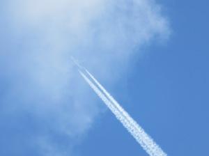 Über den Wolken ... Bild: Anselm Bußhoff