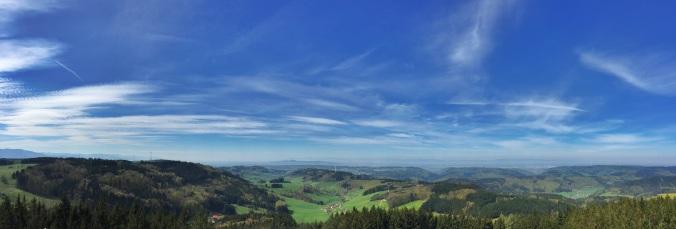 Blick über den Breisgau Richtung Vogesen