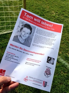 Flugblatt des SV Kollmarsreute - Bilder: Anselm Bußhoff