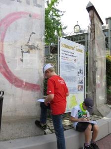 Alles Geschichte: Reste  der Berliner Mauer