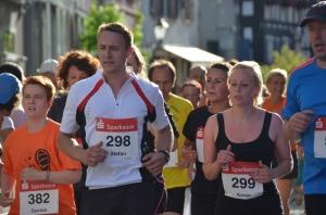 Stadtlauf in Emmendingen - für manchen nicht nur sportlich eine Herausforderung! Bild: Gerhard Walser