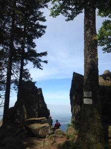 Grandioser Blick am Großen Kandelfelsen - Bilder: Ronja Vattes