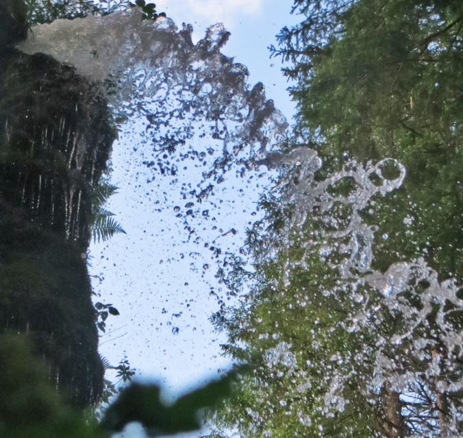 Wasser marsch: Wasserfall in Menzenschwand