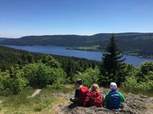 Mitten im Urlaub beschleicht uns  Fernweh: Blick vom Bildstein auf den Schluchsee. Bild: Anselm Bußhoff