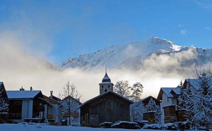 Winterstimmung in Bergün - Bild: Anselm Bußhoff