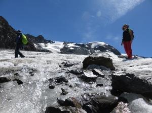 Heiß und kalt: Der Kaunertaler Gletscher im Sommer